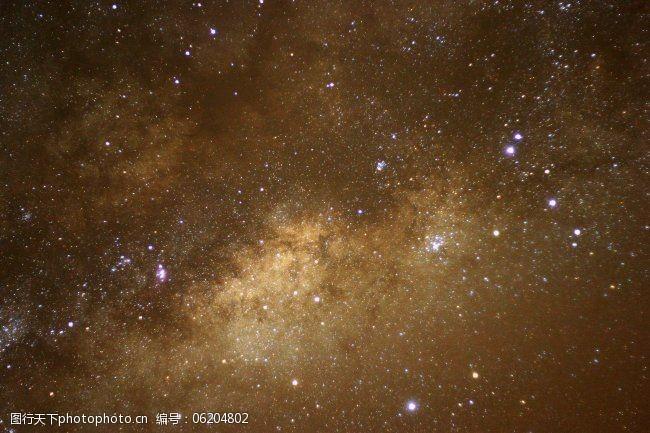 天文图片银河系中心