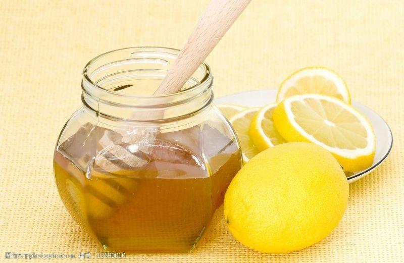 蜂蜜和水果图片