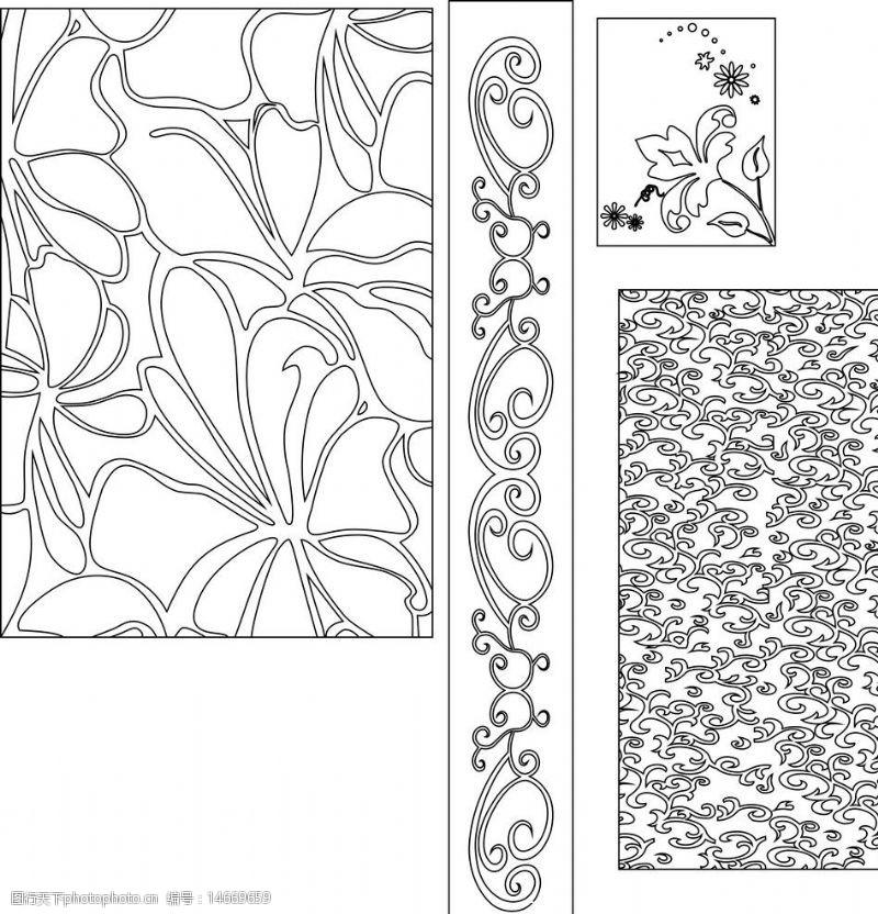 铁艺花边欧式花纹图片