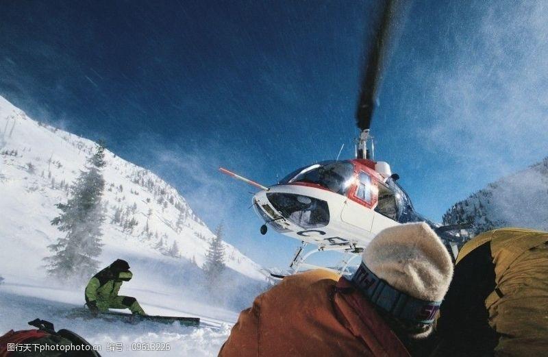 滑雪板冬季运动滑雪运动图片