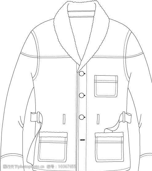 创意服装设计大衣图片