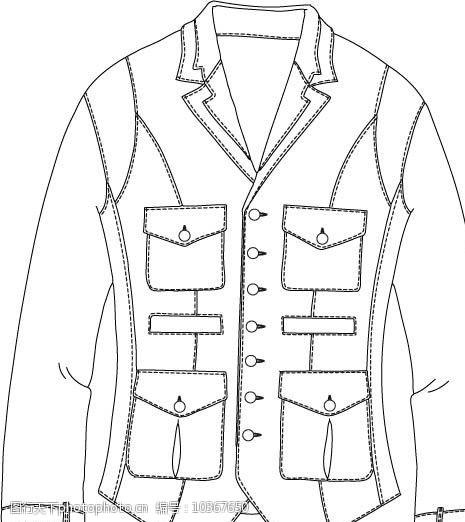 创意服装设计上衣图片